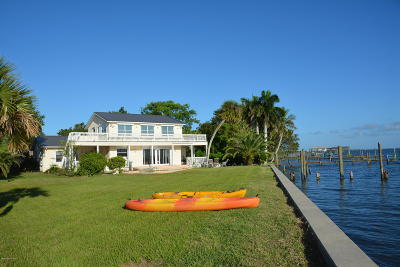Melbourne Beach Single Family Home For Sale: 395 Richards Road