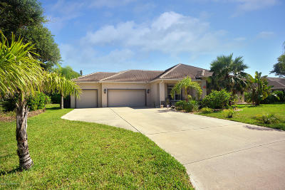 Melbourne Beach FL Single Family Home For Sale: $569,900