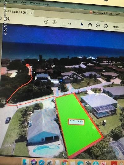 Melbourne Beach Residential Lots & Land For Sale: Xxxx Palm Drive