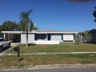 Palm Bay Single Family Home For Sale: 714 Bianca Drive NE