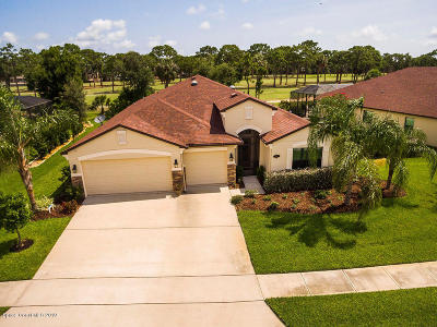 Rockledge Single Family Home For Sale: 1378 Outrigger Circle