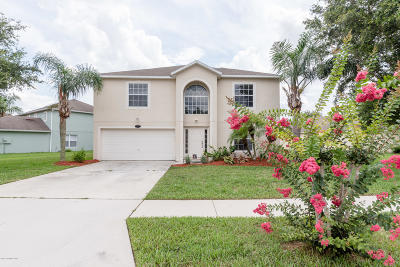 Titusville Single Family Home For Sale: 497 Mason Drive