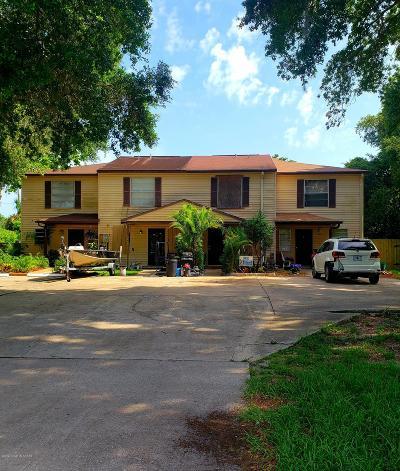 Titusville Townhouse For Sale: 3446 Joe Murell Drive