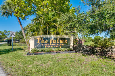 Palm Bay Condo For Sale: 2190 Forest Knoll Drive NE #101