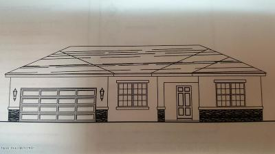 Titusville Single Family Home For Sale: 3980 Tangle Drive