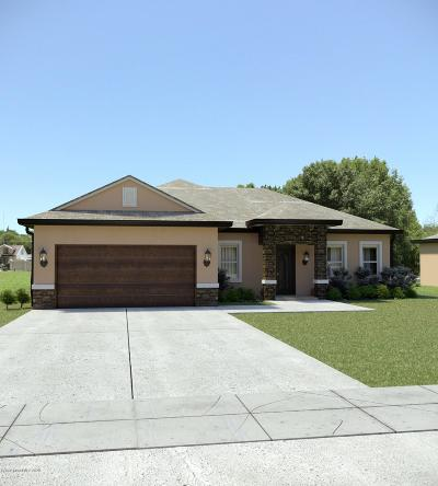 Titusville Single Family Home For Sale: 847 Willowwood Avenue