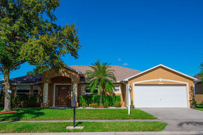 Rockledge, Melbourne, Viera Single Family Home For Sale: 1792 Laramie Circle