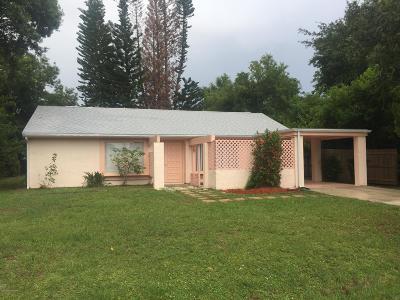 Palm Bay Single Family Home Contingent: 2095 Algeria Street NE