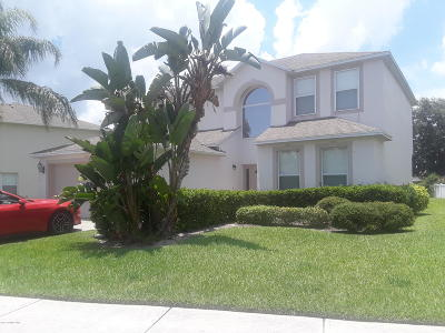 Palm Bay Single Family Home For Sale: 1757 La Maderia Drive SW