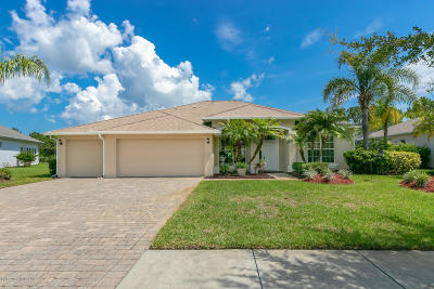 Palm Bay Single Family Home For Sale: 109 Ridgemont Circle SE