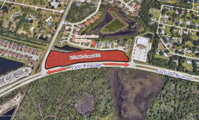Melbourne Residential Lots & Land For Sale: 3700 W Eau Gallie Boulevard #101108