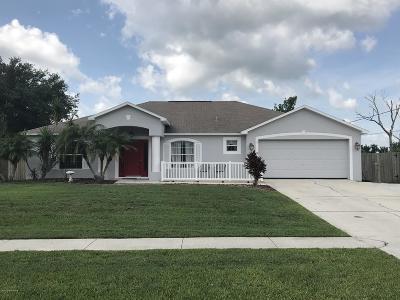 Cocoa Single Family Home For Sale: 6135 Corsica Boulevard