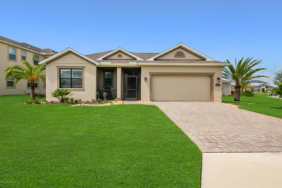 Rockledge, Melbourne, Viera Single Family Home For Sale: 2802 Amethyst Way