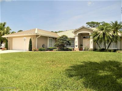 Sebastian Single Family Home For Sale: 715 S Easy Street