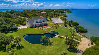 Merritt Island FL Single Family Home For Sale: $2,950,000