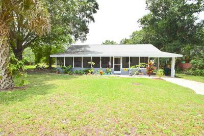 Mims, Titusville, Port Saint John Single Family Home For Sale: 5748 Lord Street