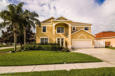 Rockledge, Melbourne, Viera Single Family Home For Sale: 417 Stonehenge Circle