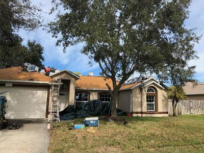 Rockledge Single Family Home Contingent: 1171 Meadow Lake Road
