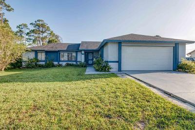 Brevard County Single Family Home For Sale: 551 Firestone Street NE