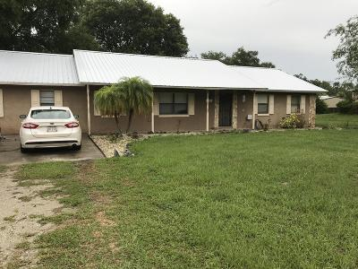 Cocoa Single Family Home For Sale: 5080 Banana Avenue