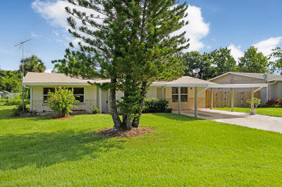 Melbourne Single Family Home For Sale: 1780 Pinewood Road