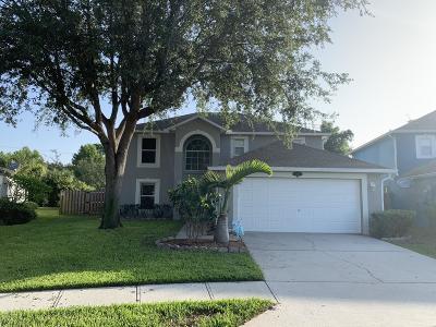 Palm Bay Single Family Home For Sale: 2196 Spring Creek Circle NE