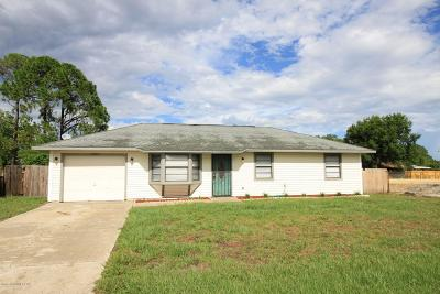 Cocoa Single Family Home For Sale: 6805 Haddington Drive