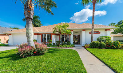 Rockledge Single Family Home For Sale: 842 Black Bird Court