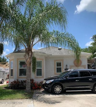 Titusville Single Family Home For Sale: 1809 Meander Lane