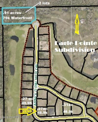 Titusville Residential Lots & Land For Sale: 2089 Arnold Palmer Drive