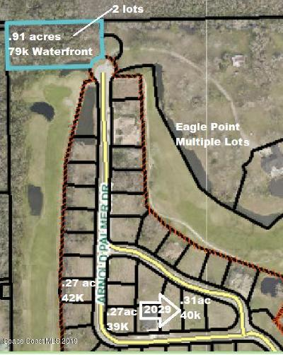 Titusville Residential Lots & Land For Sale: 2029 Arnold Palmer Drive