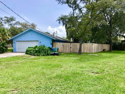 Cocoa Single Family Home For Sale: 4910 Curtis Boulevard