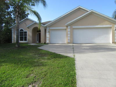 Palm Bay FL Single Family Home For Sale: $244,999