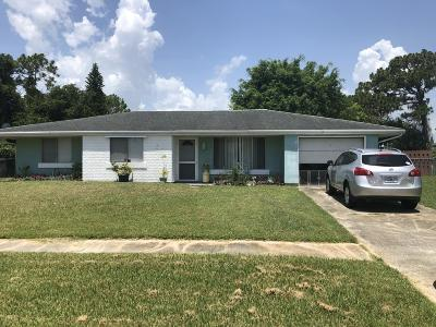 Palm Bay FL Single Family Home For Sale: $153,900