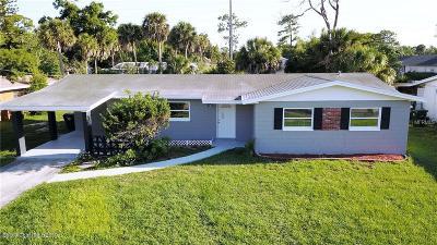 Rockledge Single Family Home For Sale: 1014 Revilla Lane