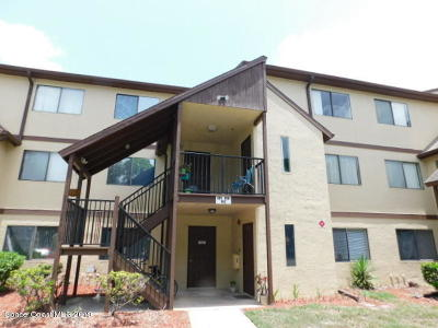 West Melbourne Condo For Sale: 7808 Shadowood Drive #806