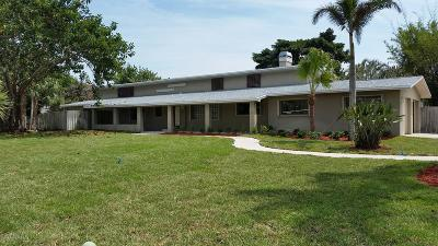 Indialantic Single Family Home For Sale: 1201 S Shannon Avenue