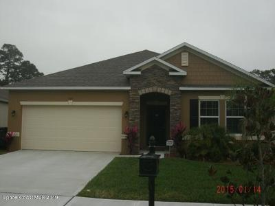 Titusville Single Family Home For Sale: 765 Breakaway Trail