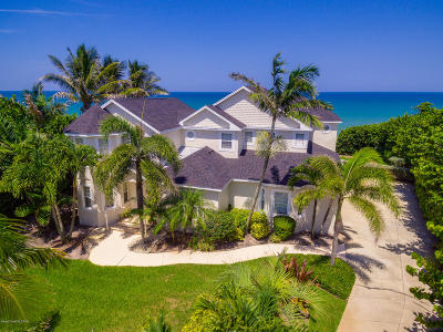 Single Family Home For Sale: 3185 S Highway A1a