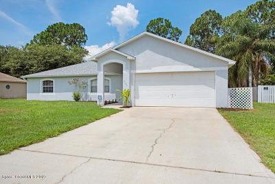 Cocoa Single Family Home For Sale: 7160 Briggs Avenue