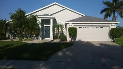 Rockledge Single Family Home For Sale: 422 Heathrow Circle