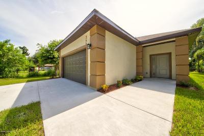 Cocoa Single Family Home For Sale: 346 Palm Avenue