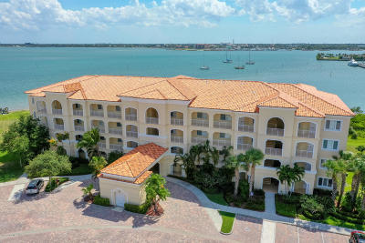 St. Lucie County Condo For Sale: 31 Harbour Isle Drive W #106