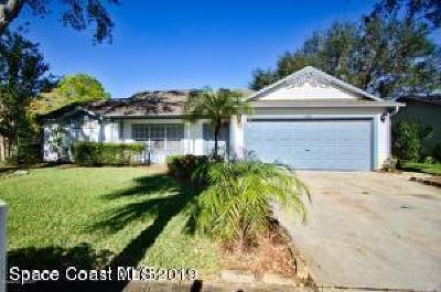 Melbourne Single Family Home Contingent: 2402 Appalachian Drive