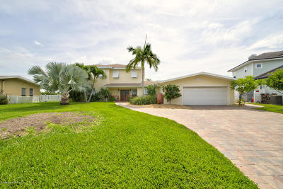 Cocoa Beach FL Single Family Home For Sale: $1,495,000