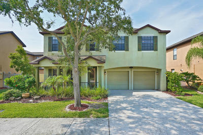 Merritt Island Single Family Home For Sale: 2843 Glenridge Circle