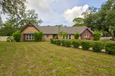 Cocoa Single Family Home For Sale: 2665 Wagon Road