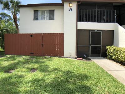 Melbourne Condo For Sale: 601 Ridge Club Drive #1