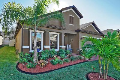 Rockledge Single Family Home For Sale: 3975 Harvest Circle