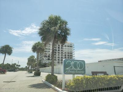 Cocoa Beach Condo For Sale: 2100 N Atlantic Avenue #607
